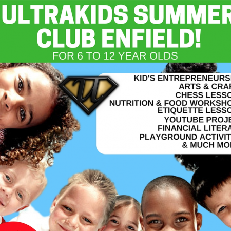 Enfield Kid's Entrepreneurship Summer Camp (1 Day Booking)