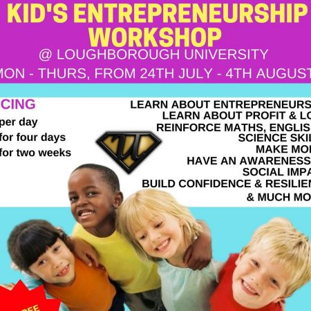 Loughbourough Uni Kid's Entrepreneurship Programme
