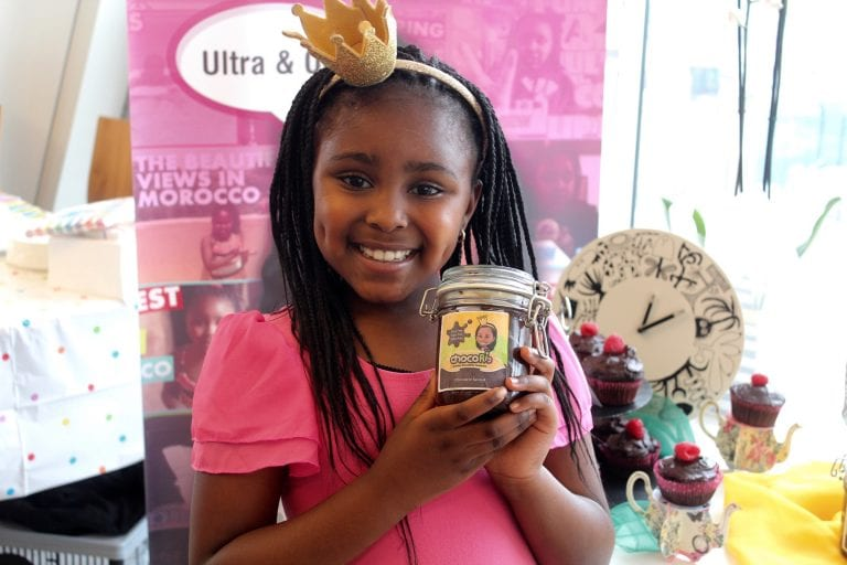 8 year old Entrepreneur Has Own Brand of Choc Spread & YouTube Channel