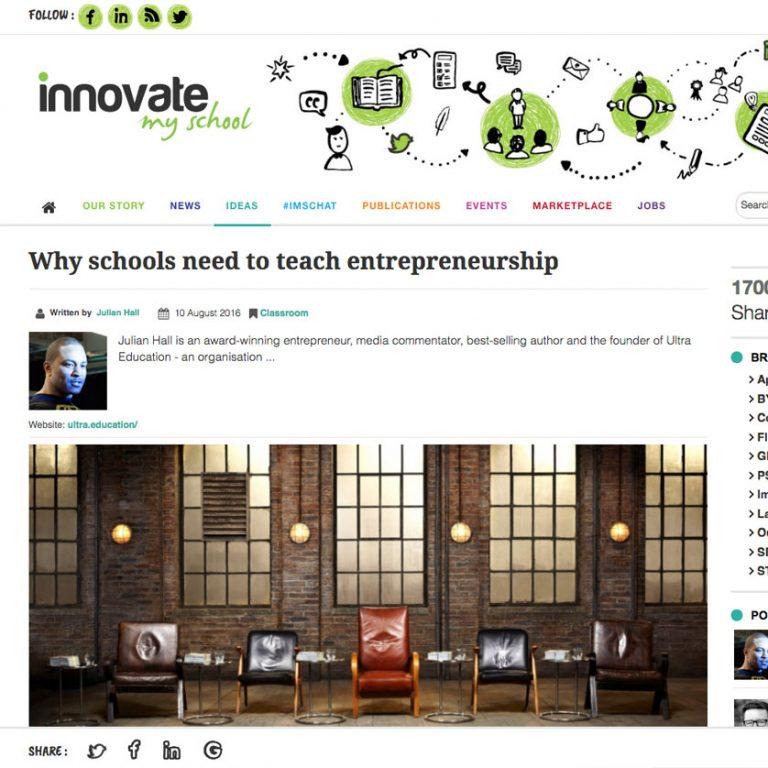 Innovate My School