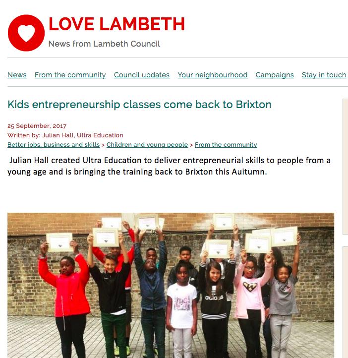 LOVE LAMBETH