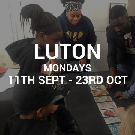 Luton – Mon 11th Sept to 23rd Oct