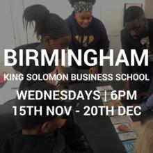 King Solomon 15/11 to 20/12