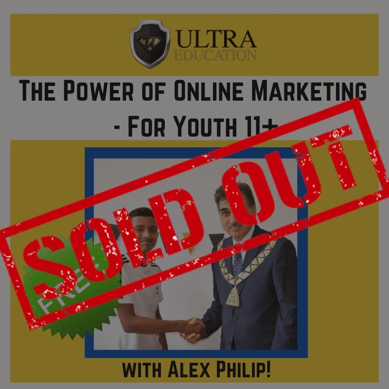 (SOLD OUT!!) FREE: The Power of Online Marketing workshop!