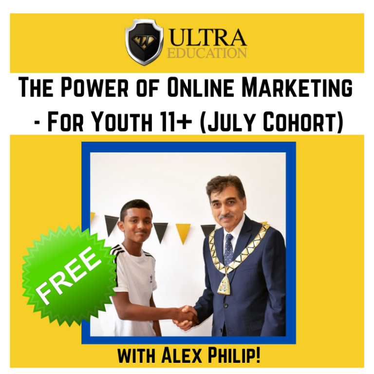 FREE: The Power of Online Marketing workshop! (July Cohort)