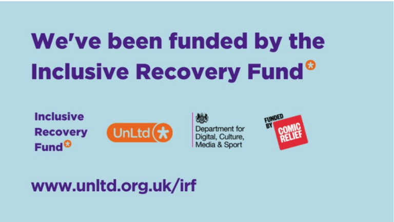 Ultra Education Awarded Funding from UnLtd's Inclusive Recovery Fund!