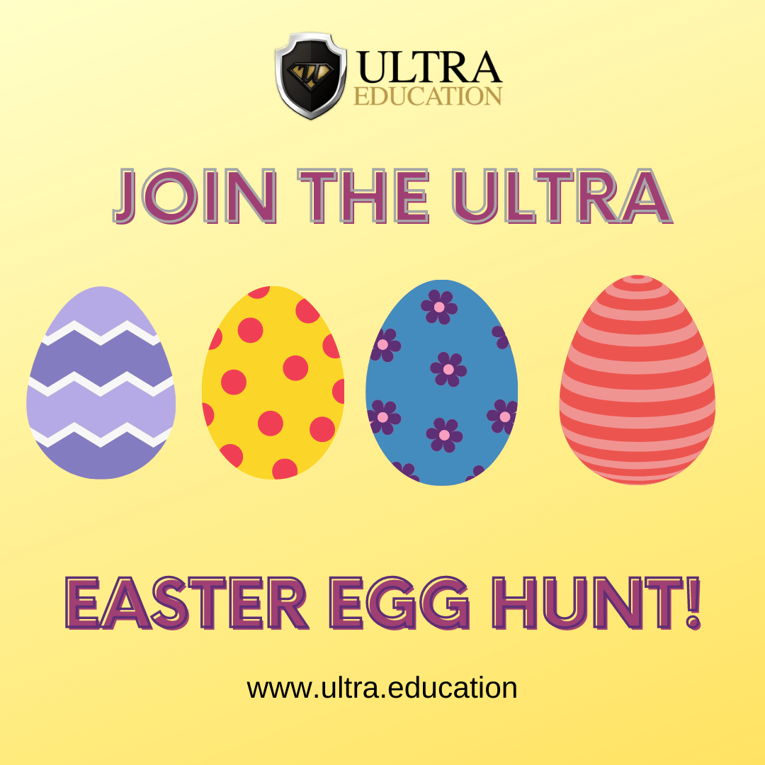 Get Involved in the Ultra Virtual Easter Egg Hunt!
