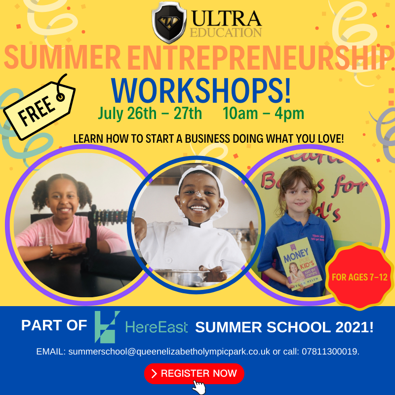 Read more about the article Ultra Summer Workshops Coming to East London!